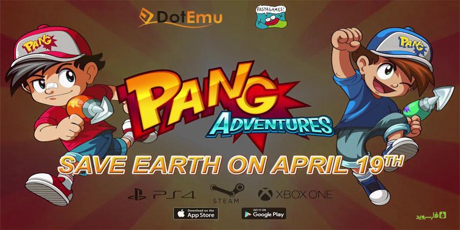 """دانلود Pang Adventures 1.0.0 - بازی آرکید عالی """"ماجراهای پنگ"""" اندروید + دیتا"""