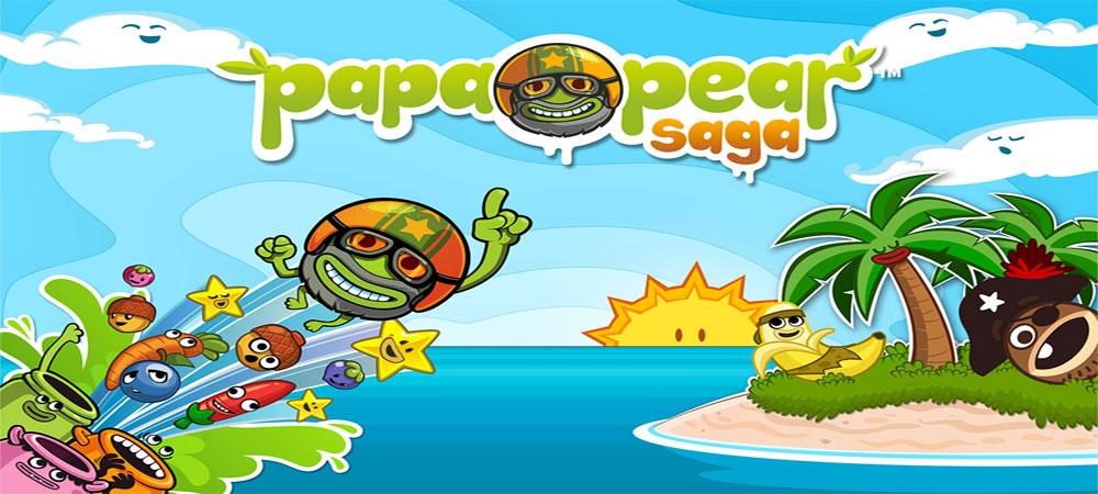 دانلود Papa Pear Saga - بازی زیبای گلابی پاپا اندروید + تریلر