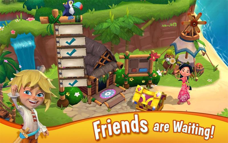 دانلود Paradise Bay 3.8.0.7660 - بازی مزرعه داری خلیج بهشتی اندروید !