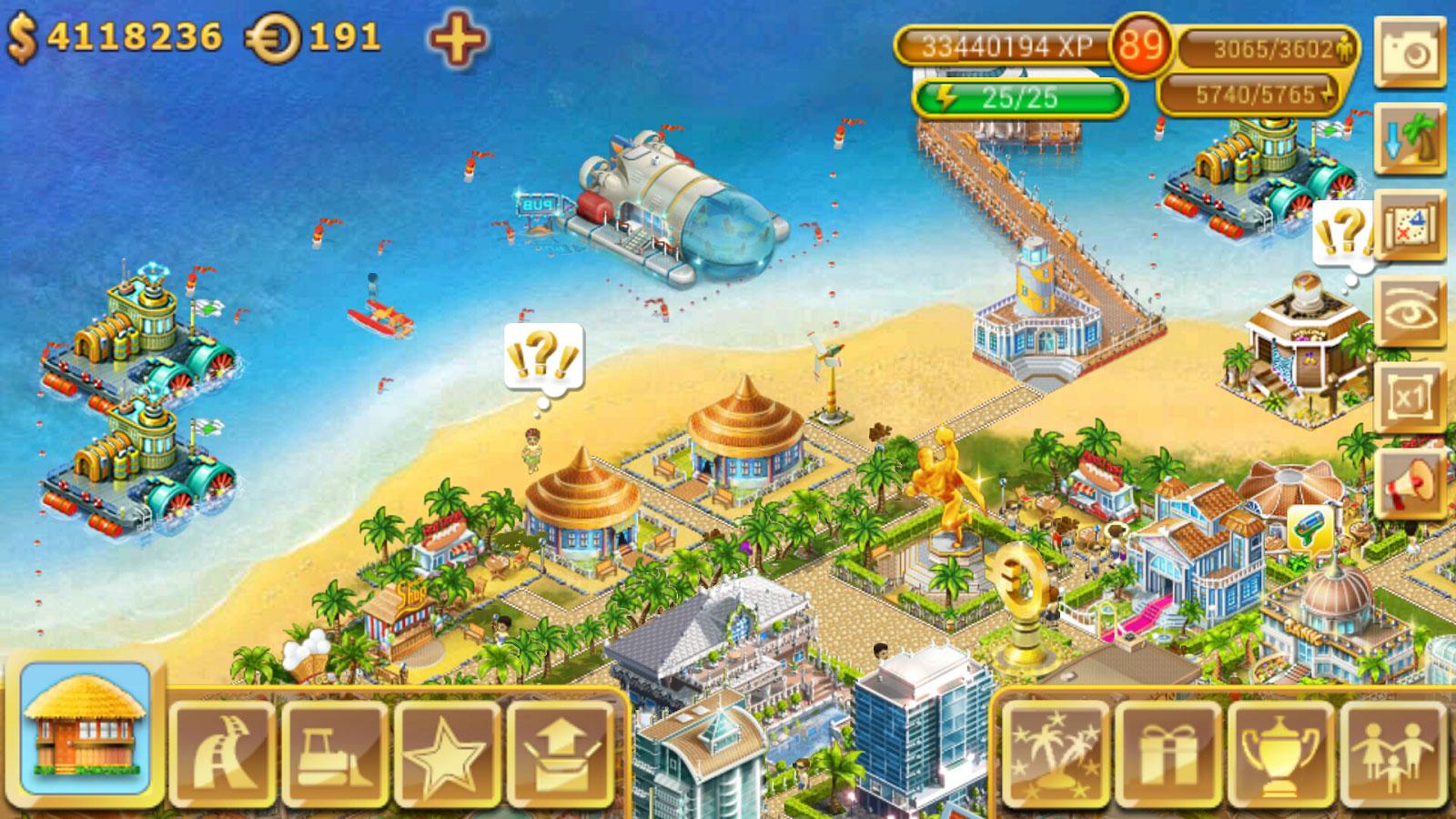 دانلود Paradise Island 4.0.8 – بازی استراتژی جزیره بهشتی اندروید !