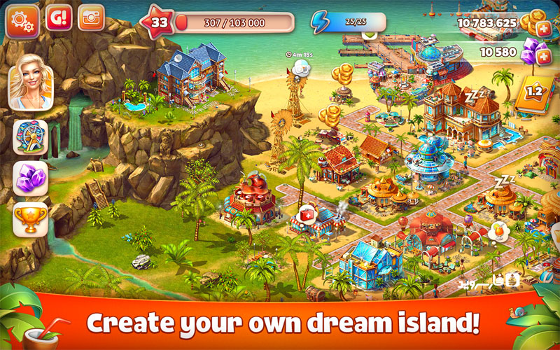 Download Paradise Island 2 Android Apk - New Free Google Play