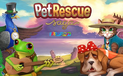 دانلود Pet Rescue Saga - بازی جالب نجات حیوانات خانگی اندروید