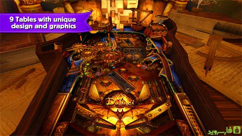 دانلود Pinball Fantasy HD - بازی پین بال فانتزی اندروید!