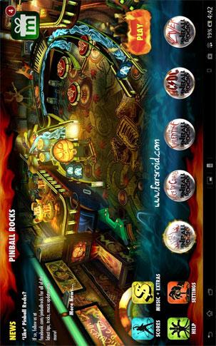 Pinball Rocks Android بازی اندروید