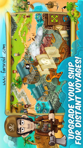 Pirate Explorer: The Bay Town Android بازی اندروید