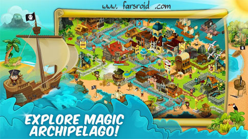 Download Pirate Explorer: The Bay Town Android Apk + Obb - Newest