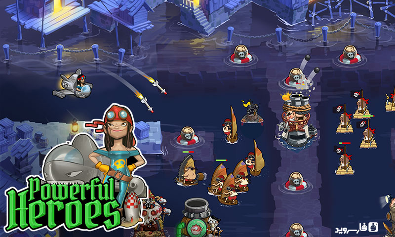 Download Pirate Legends TD Android Apk + Obb SD Game - Google Play