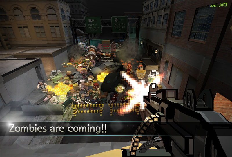 دانلود Pixel Arms 1.1.2 – بازی اکشن نبردهای پیکسلی اندروید + مود + دیتا