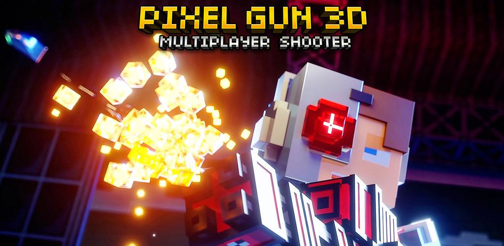 دانلود Pixel Gun 3D - بازی پرطرفدار تفنگداران پیکسلی اندروید + دیتا/مود