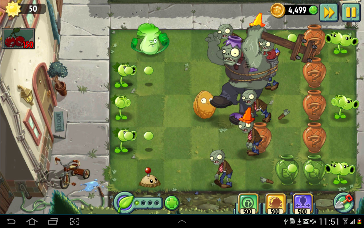 Plants vs. Zombies 2 HD Android بازی اندروید