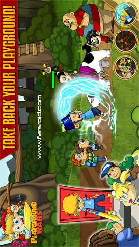 Playground Wars Android بازی اندروید