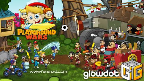 دانلود Playground Wars - بازی سرگرم کننده نبرد با دشمنان اندروید