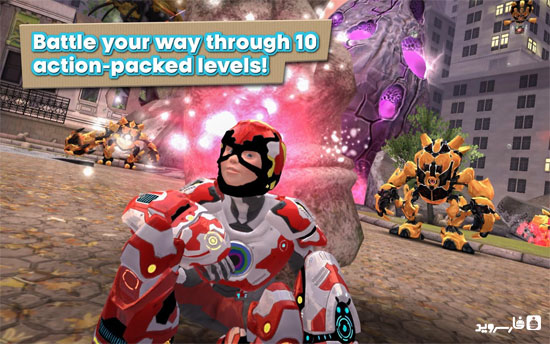 Playworld Superheroes Android - بازی جدید اندروید - رایگان