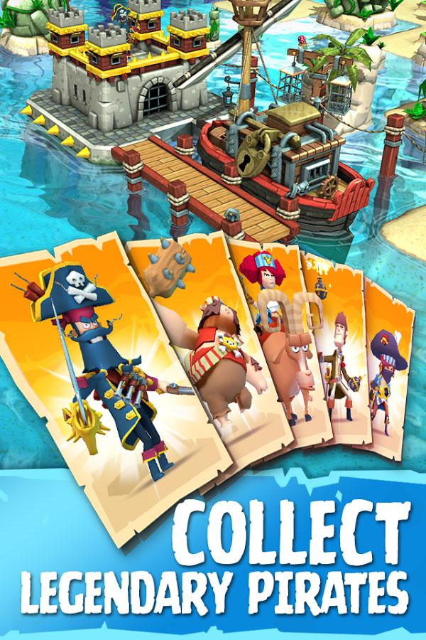 دانلود Plunder Pirates 3.8.0 – بازی غارتگری دزدان دریایی اندروید + دیتا