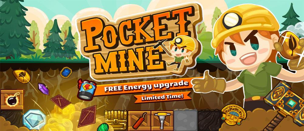 دانلود Pocket Mine 2 - بازی معدنچی گنج 2 اندروید + مود