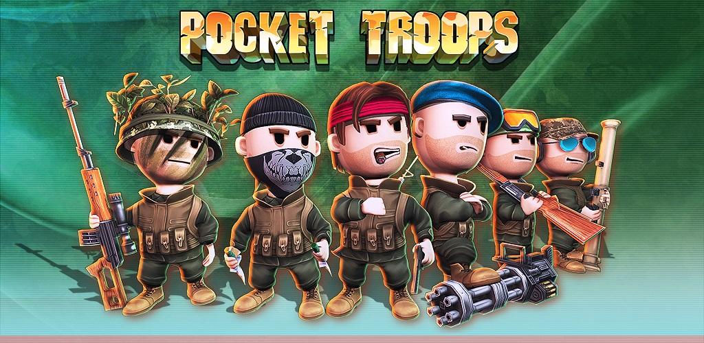 دانلود Pocket Troops - بازی استراتژی نبرد سربازان مینیاتوری اندروید + دیتا