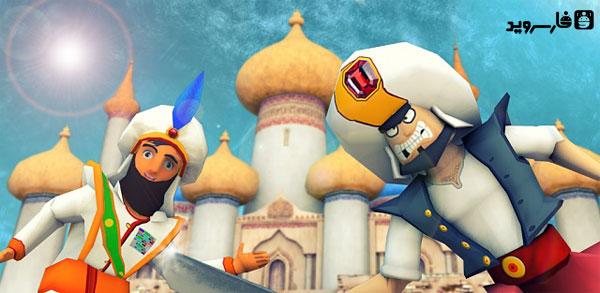 دانلود Prince Aladdin Runner - بازی علاء الدین دونده اندروید + مود