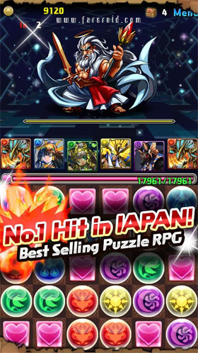 Puzzle & Dragons Android - بازی اندروید
