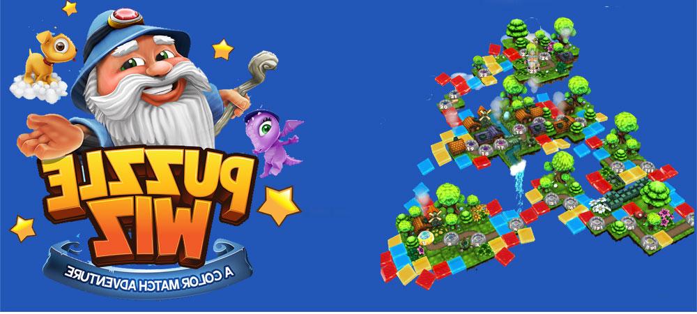 """دانلود Puzzle Wiz - بازی پازل match-3 فوق العاده """"ویز"""" اندروید + مود"""
