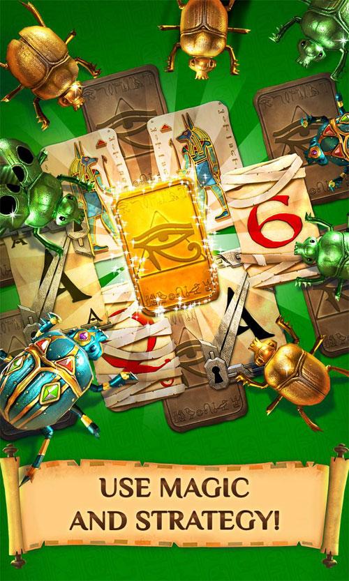 دانلود Pyramid Solitaire Saga 1.111.0 – بازی کارتی هرم اندروید + مود
