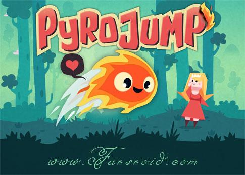 دانلود Pyro Jump Full - بازی سرگرم کننده پرش پیرو آندروید (فول)