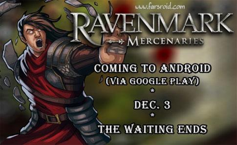 دانلود RAVENMARK: Mercenaries - بازی استراتژیک متفاوت اندروید !
