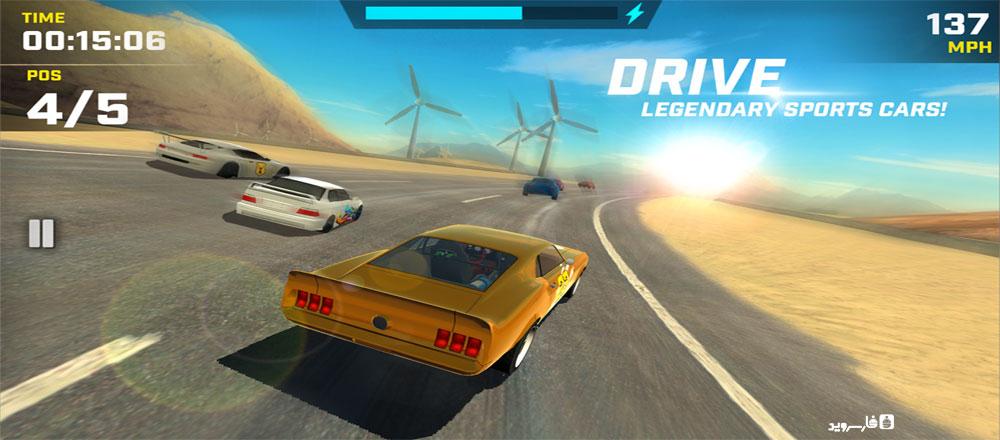 دانلود Race Max - بازی ماشین سواری عالی اندروید + مود + دیتا