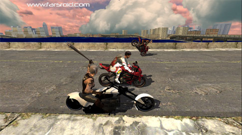 Download Race Stunt Fight 3! Android Game Apk + Obb - NEW FREE