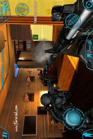 Rainbow Six HD بازی تفنگی اندروید