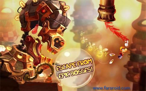 """دانلود Rayman Fiesta Run 1.4.2 – بازی اکشن – ماجراجویی خارق العاده """"ریمن فیستا"""" اندروید + مود + دیتا"""