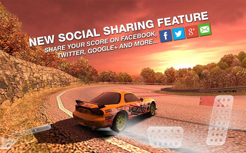 Real Drift Car Racing Android - بازی جدید اندروید