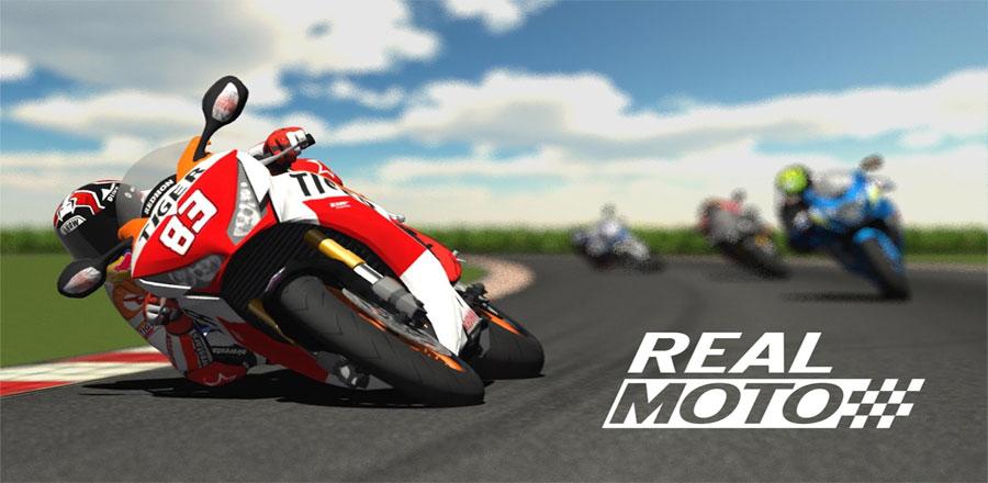 دانلود Real Moto - بازی موتورسواری کورس اندروید + مود + دیتا