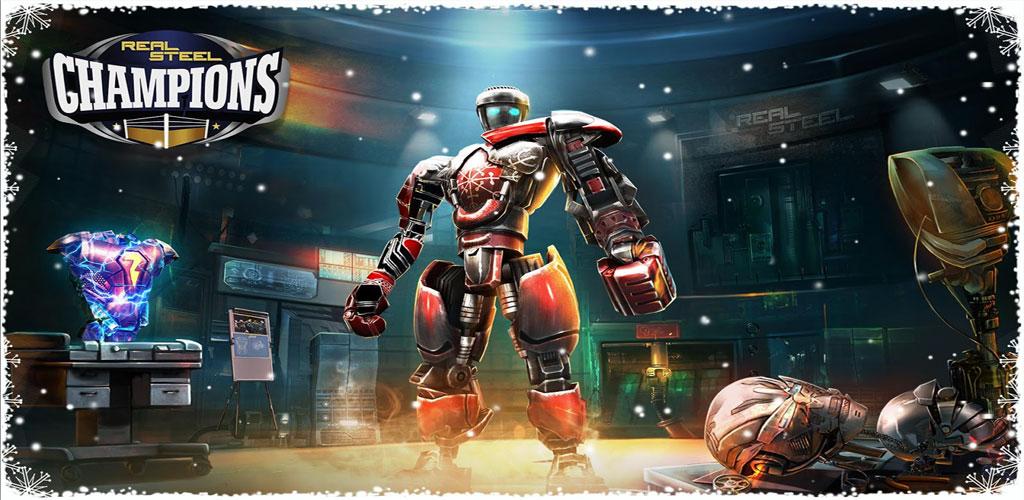 دانلود Real Steel Boxing Champions - بازی مسابقات بوکس قهرمانان ربات اندروید + مود + دیتا