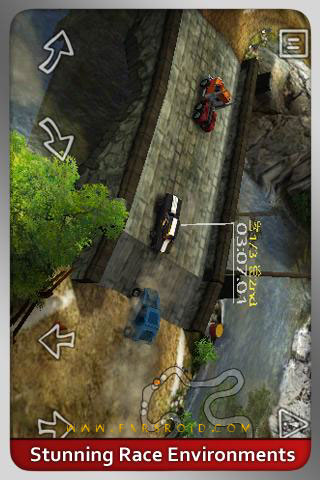 Reckless Racing Android بازی اندروید
