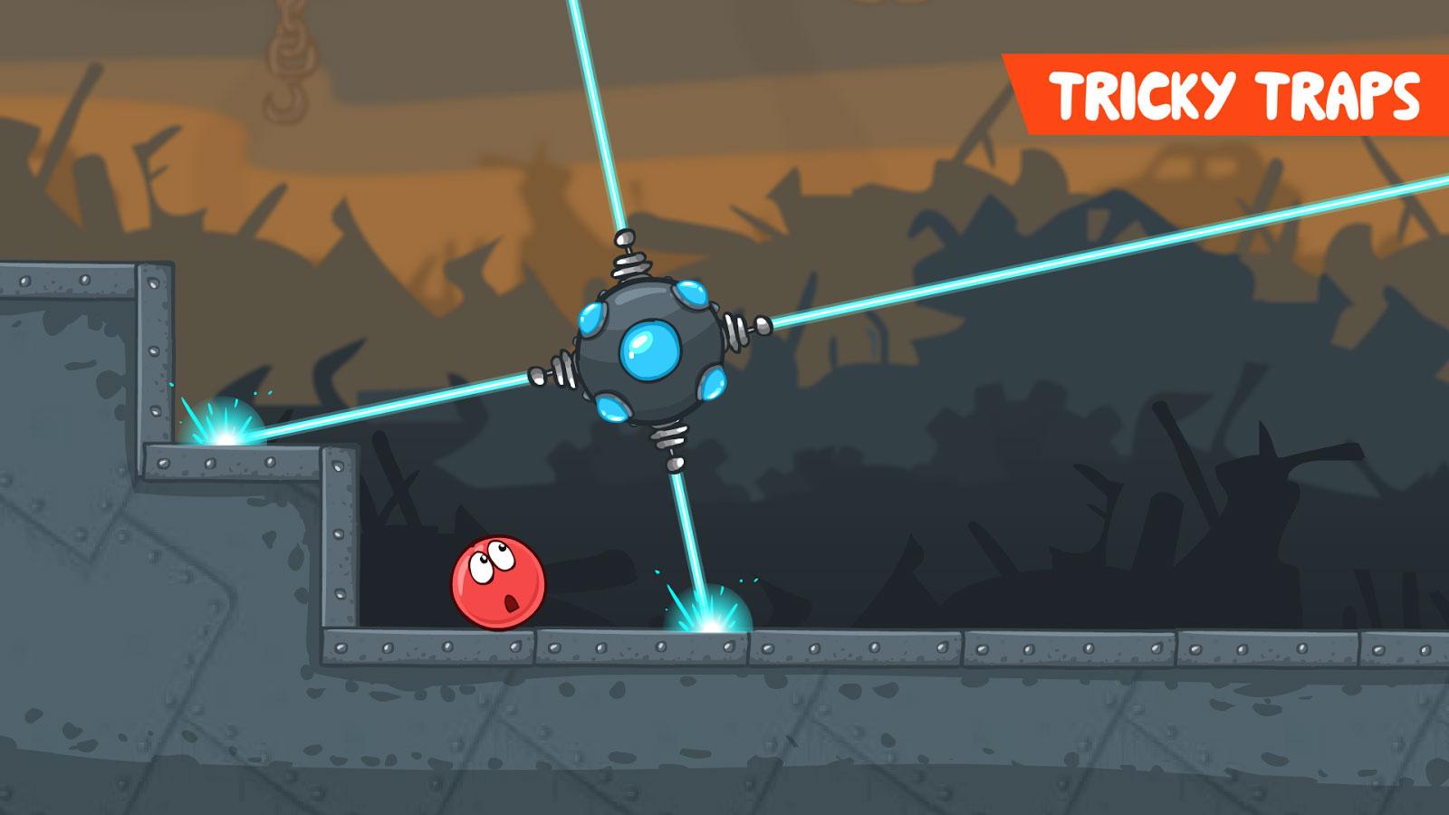 دانلود Red Ball 4 1.4.21 – بازی آرکید جالب توپ قرمز 4 اندروید + مود