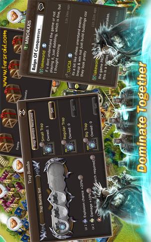 Reign of Conquerors Android - بازی استراتژیک اندروید