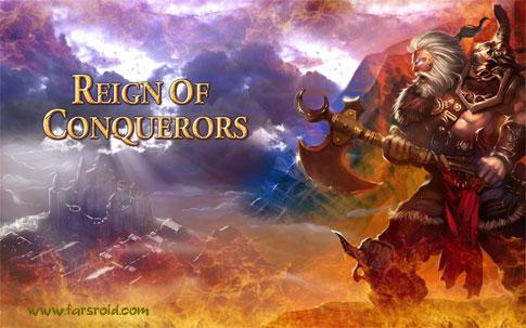 دانلود Reign of Conquerors - بازی استراتژیک حکومت فاتحان اندروید + دیتا