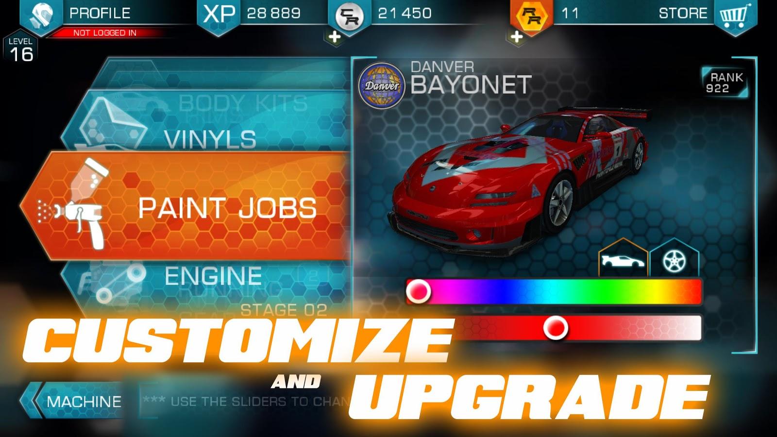 Ridge Racer Slipstream - بازی ماشینی اندروید
