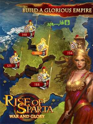 Rise of Sparta: War and Glory Android - بازی اندروید