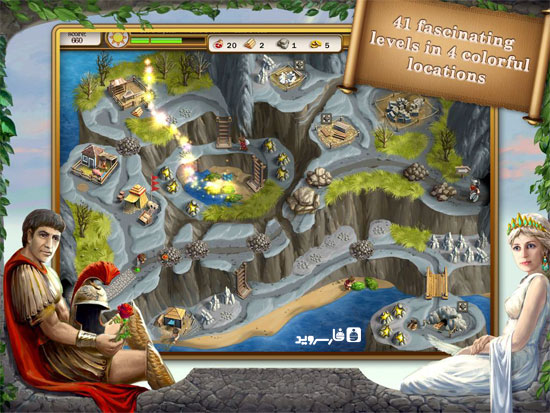 Roads of Rome 2 Android - بازی جدید اندروید