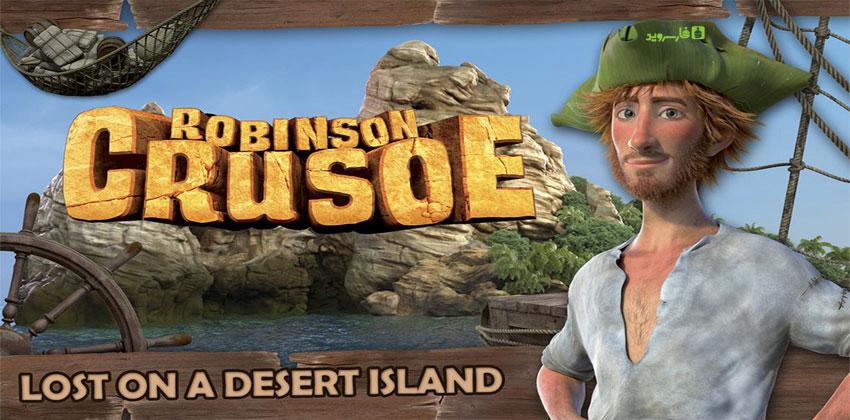 """دانلود Robinson Crusoe The Movie - بازی ماجرایی فوق العاده """"رابینسون کروزو"""" اندروید + دیتا"""
