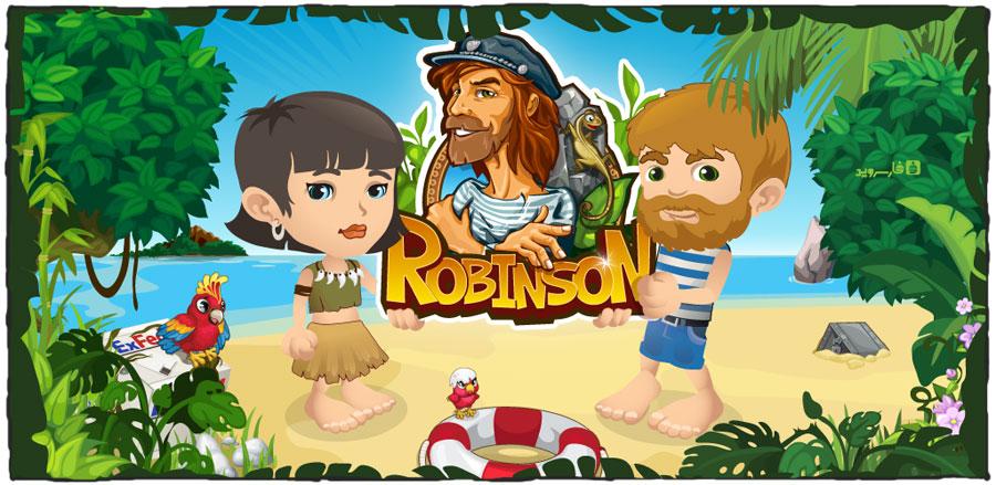 دانلود Robinson - بازی کشف رازهای رابینسون اندروید + دیتا