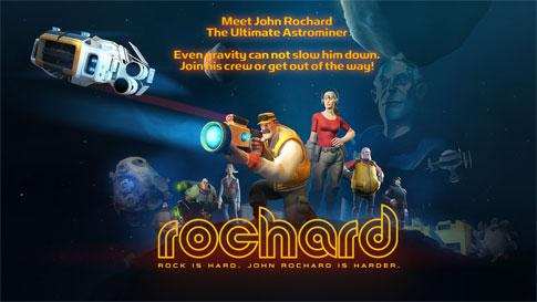 دانلود Rochard - بازی اچ دی سیاحت معدن اندروید + دیتا