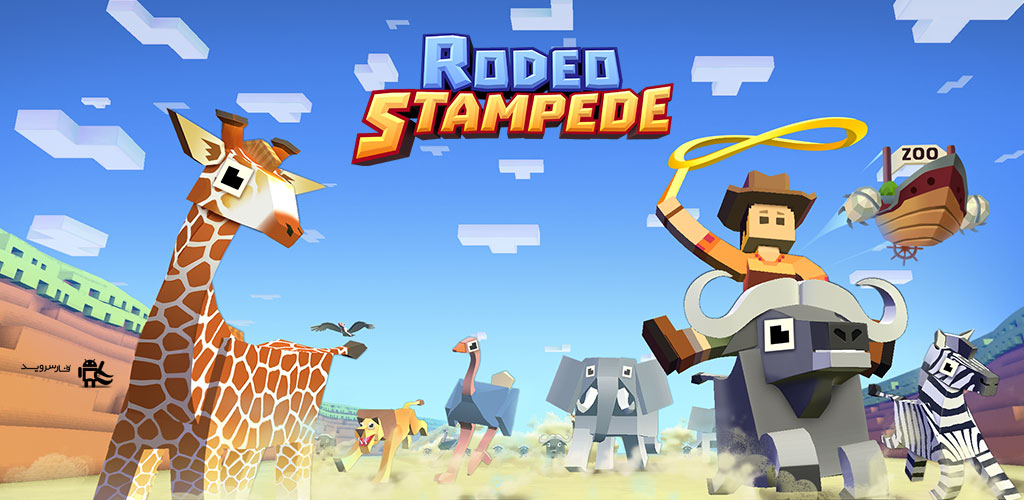 Download Rodeo Stampede: Sky Zoo Safari - an interesting zoo management game for Android + mod