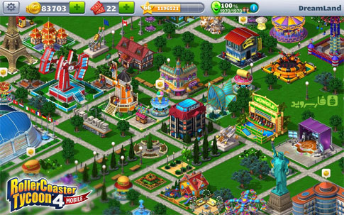 RollerCoaster Tycoon® 4 Mobile Android - بازی اندروید