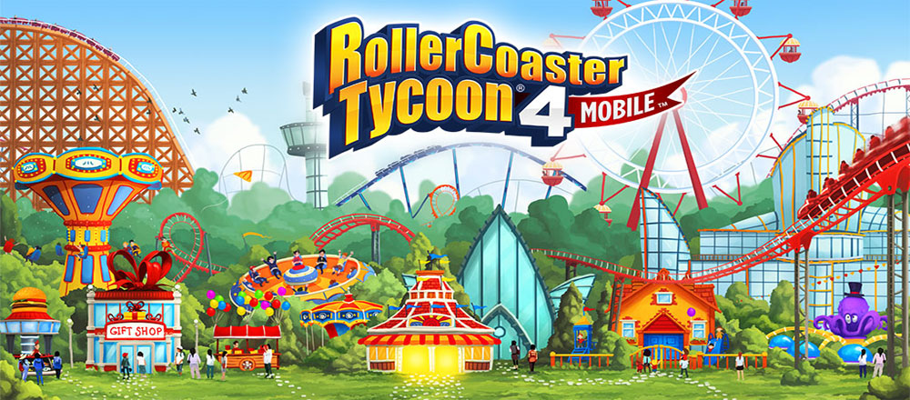 دانلود RollerCoaster Tycoon® 4 Mobile 1.1.1.7 – بازی ساخت پارک اندروید + دیتا