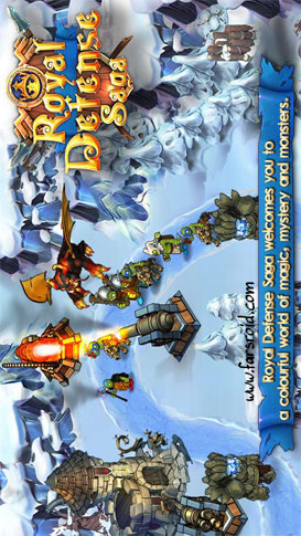 دانلود Royal Defense Saga 1.04 – بازی دفاع سلطتنی اندروید + دیتا + تریلر