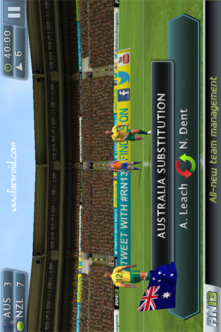 Rugby Nations 13 Android بازی اندروید