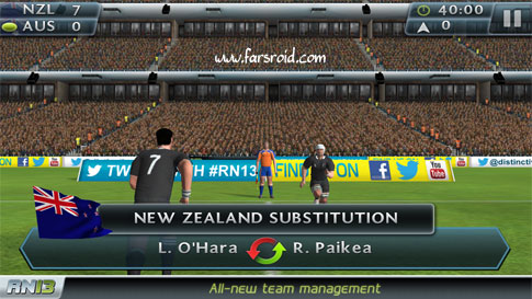 Download Rugby Nations 13 Android Apk + Obb - New Direc Link