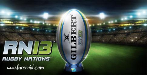 دانلود Rugby Nations 13 - بازی پرطرفدار راگبی برای اندروید + دیتا